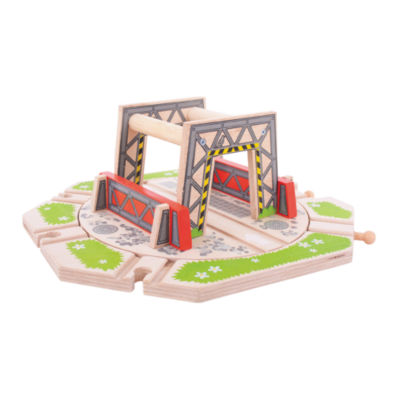 Industrial Turntable Wooden Train Accessory Train