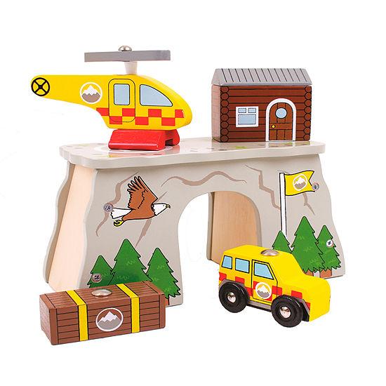Mountain Rescue Wooden Train Accessory Train