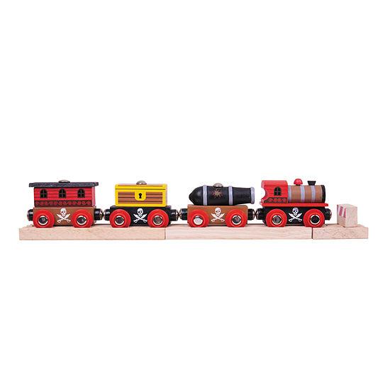 Wooden Pirate Train