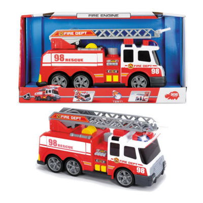 Large Action Fire Brigade Vehicle Truck