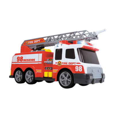 Large Action Fire Brigade Vehicle Boat