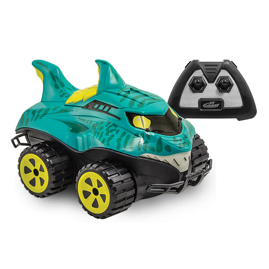 Kid Galaxy 24 Ghz Mega Morphibian Shark Remote Control Vehicle Truck