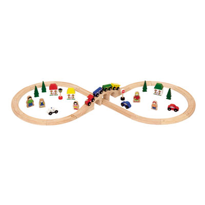 Bigjigs Toys - Figure of Eight Train Set