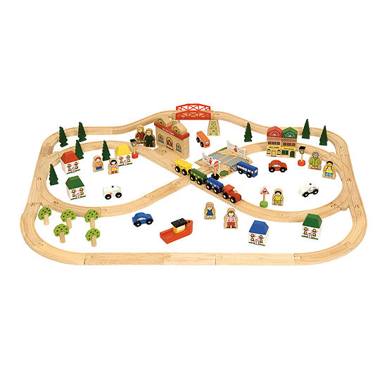 Bigjigs Toys - Town and Country Set