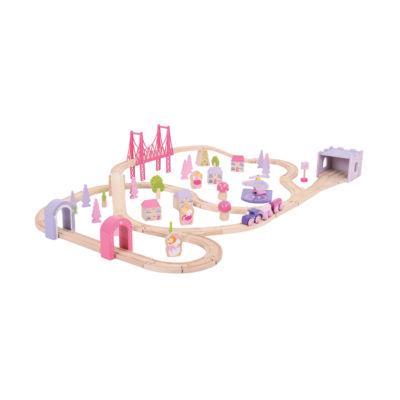Bigjigs Toys - Fairy Town Train Set