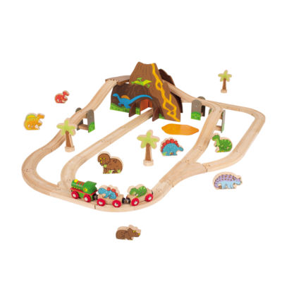 Bigjigs Toys - Dinosaur Train Set