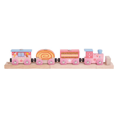 BigJigs Toys - Wooden Sweetland Express Train