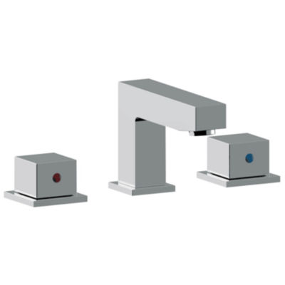 American Imaginations Xena Farmhouse Rectangle Floor Mount 8-in. o.c. Center Faucet Vanity Set