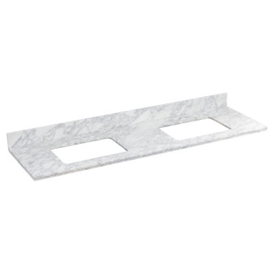 American Imaginations Shaker Rectangle Countertop4-in. o.c. Center Faucet Quartz Top