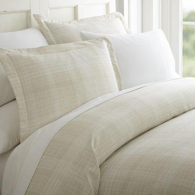Casual Comfort™ Premium Ultra Soft Thatch Pattern Duvet Cover Set