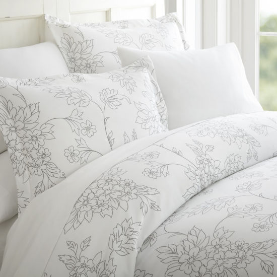 Casual Comfort™ Premium Ultra Soft Vine Pattern Duvet Cover Set