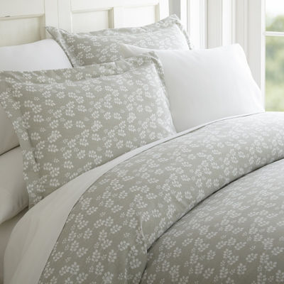 Casual Comfort™ Premium Ultra Soft Wheatfield Pattern Duvet Cover Set