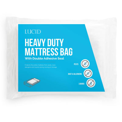Lucid Heavy Duty 3 Mil Mattress Bag