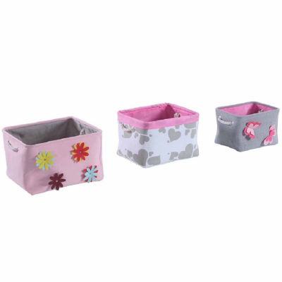 Spring Bin, Set of 3