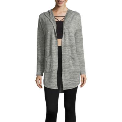 Xersion Long Sleeve Hooded Cardigan