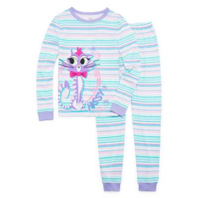 Disney 2-pack Puppy Dog Pals Pajama Set Girls