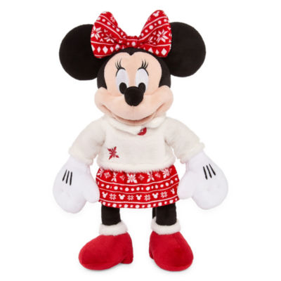 Disney Minnie Mouse Holiday Plush
