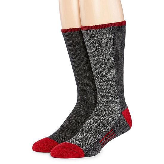 Dockers® 2-pk. Accent Thermal Boot Socks