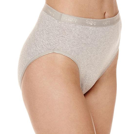 Underscore Plus Cotton Knit High Cut Panty