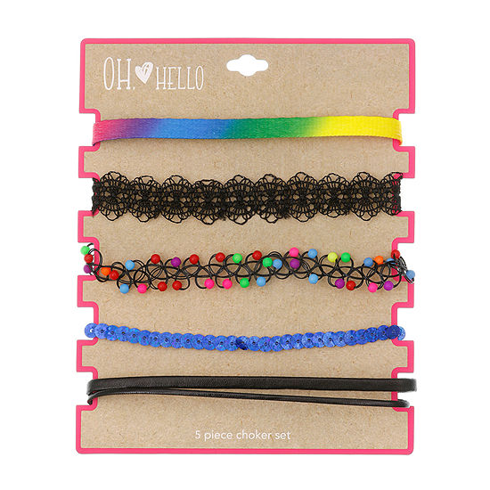 Oh Hello Oh Hello Launch Girls Choker Necklace