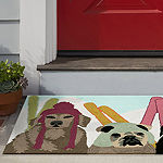 Liora Manne Frontporch Ski Patrol Hand Tufted Rectangular Indoor/Outdoor Rugs