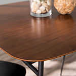 Bicreek Square Wood-Top Dining Table