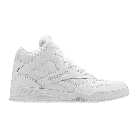 80s Men's Clothing   Shirts, Jeans, Jackets for Guys Reebok Royal Bb4500 Hi2 Mens Basketball Shoes 10 Medium White $59.99 AT vintagedancer.com