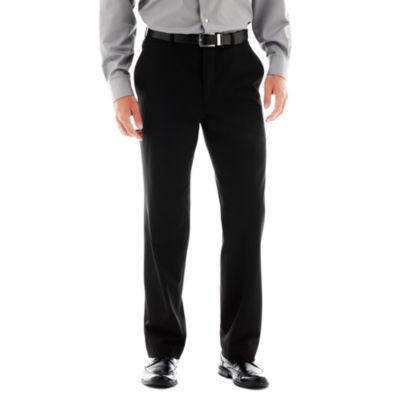 Men's JF J. Ferrar® Stretch Gabardine Flat-Front Straight-Leg Classic Fit Suit Pants