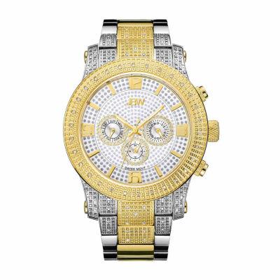 JBW Mens Two Tone Bracelet Watch-J6336d
