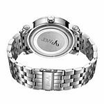 JBW Hendrix 1/5 C.T. T.W. Diamond Mens Silver Tone Stainless Steel Bracelet Watch - J6338a