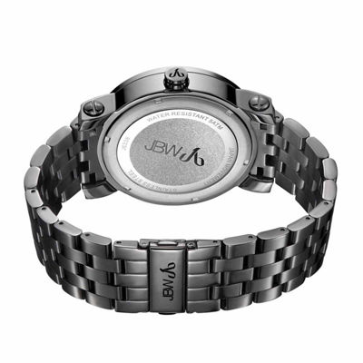 JBW Men's Hendrix 0.20 ctw Diamond Black Ion-Plated Stainless Steel Watch J6338C