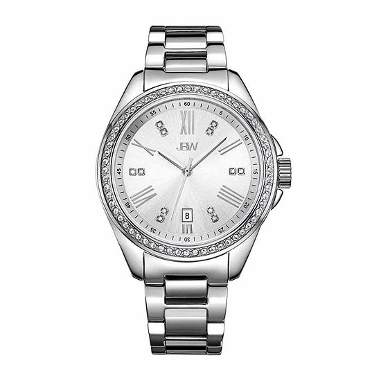 JBW Women's Capri 0.12 ctw Diamond Stainless Steel Watch J6340D