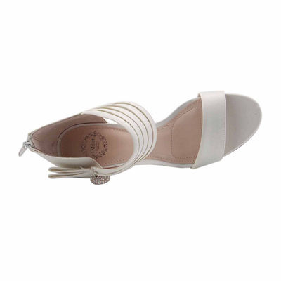 I. Miller Womens Caeden Pumps Zip Open Toe