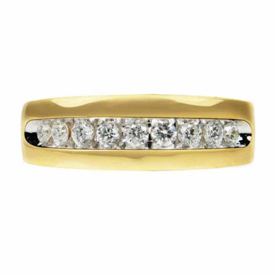 Mens 1/2 CT. T.W. Diamond 14K Gold Band