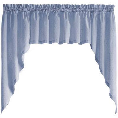 United Curtain Co. Dorothy Rod-Pocket Valance