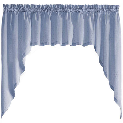 United Curtain Co. Dorothy Rod-Pocket Valance