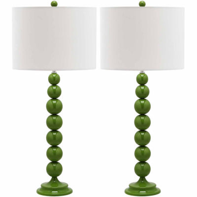 Safavieh Pearl Stacked Ball Lamp- Set of 2