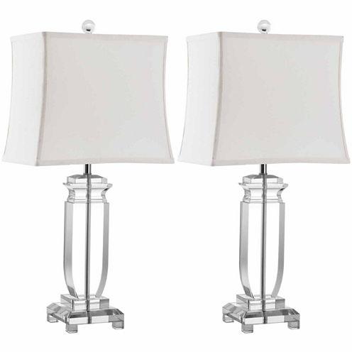 Safavieh Alpheus Lamp- Set of 2