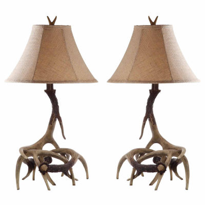 Safavieh Bark Lamp- Set of 2