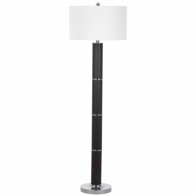 Safavieh Marco Faux Woven Leather Floor Lamp