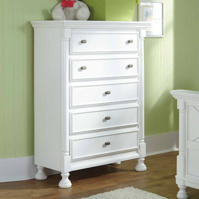 Signature Design by Ashley® Kaslyn Five Drawer Chest