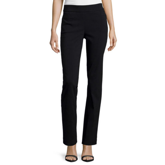 Liz Claiborne�� Pull-On Stretch Trousers