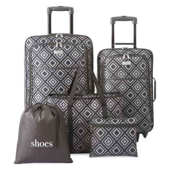 Protocol Garrison 5 Pc Luggage Set