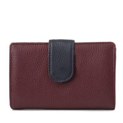 Mundi Rio Leather S&P RFID Blocking Indexer Wallet