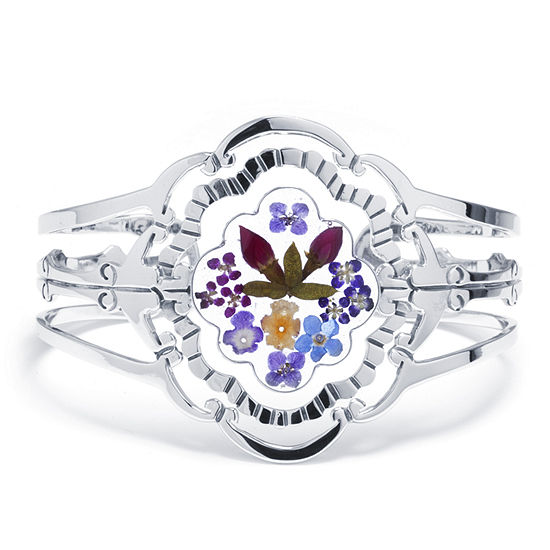 Womens Cuff Bracelet Sterling Silver