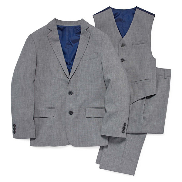 IZOD Sharkskin Suit Jacket - Boys 8-20