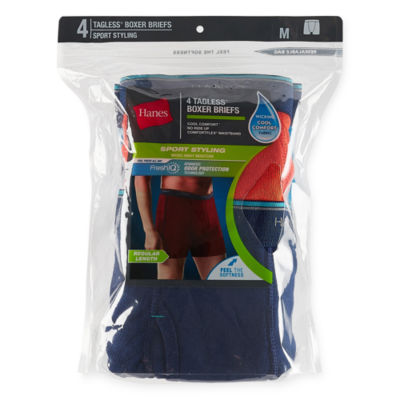Hanes® 4-pk. X-Temp® Performance Stretch Boxer Briefs