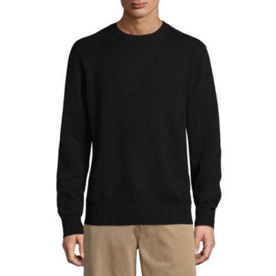 St. John's Bay Crew Neck Long Sleeve Knit Pullover Sweater