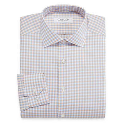 Collection by Michael Strahan Wrinkle-Free Cotton Stretch Long Sleeve Woven Dress Shirt
