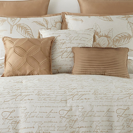 Home Expressions Gold Reversible 7-pc Comforter Set